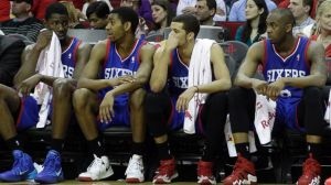 The 76ers have had a horrible season and have traded pieces to intentionally lose.
