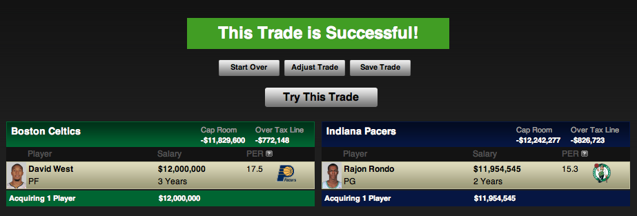 NBA Trade Machine ESPN