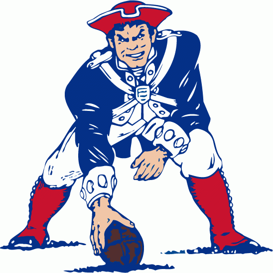 Steering away from a near clone of New England's logo would be difficult with this one - photo via www.grayflannelsuit.net