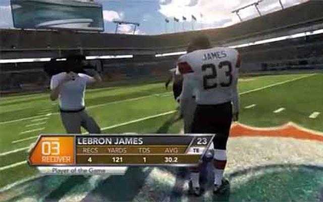Photo via Will Brinson, CBSSports.com/EA