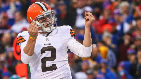 """Johnny Football"" did not have the rookie season many had hoped for. His future remains up in the air after checking in and out of rehab. photo via imgkid.com"