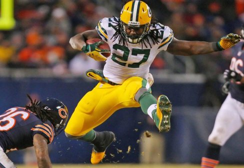 Another productive year from Eddie Lacy adds another dimension to the Green Bay offense Photo via www.eddielacyrb.com