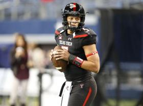 Patrick Mahomes is going to need to have another huge game this week to give Texas Tech the chance to beat Baylor. Photo via: lubbockonline.com